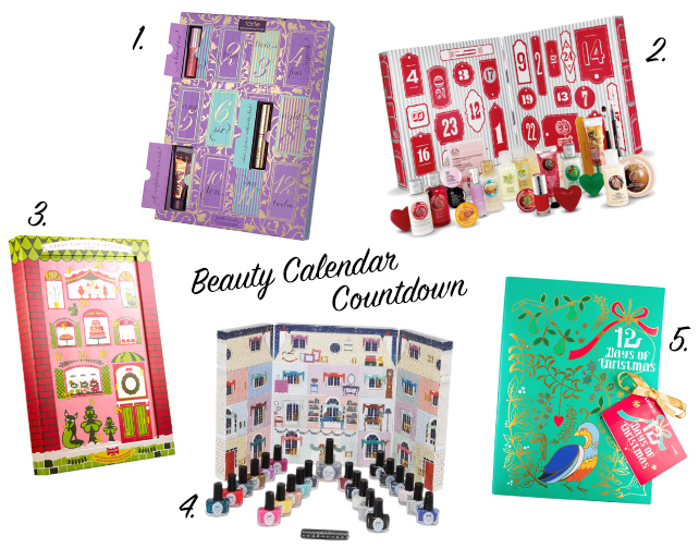 Beauty Advent Calendars 1