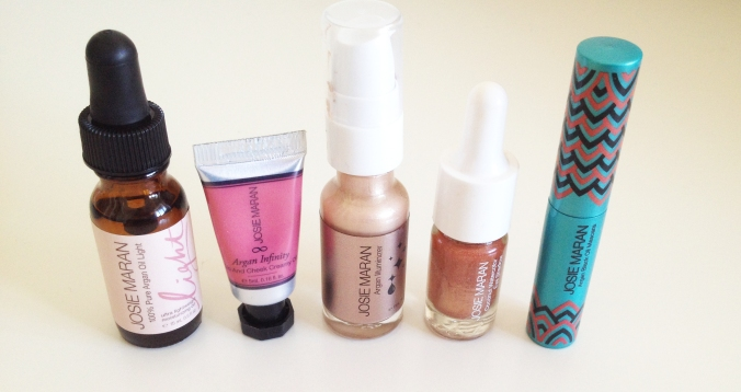 Josie Maran Winter Collection Products